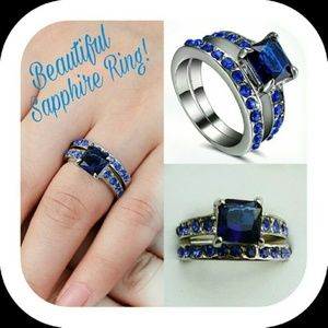 Jewelry - New Blue Sapphire Ring